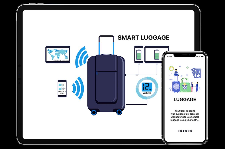 IoT prototype, smart luggage