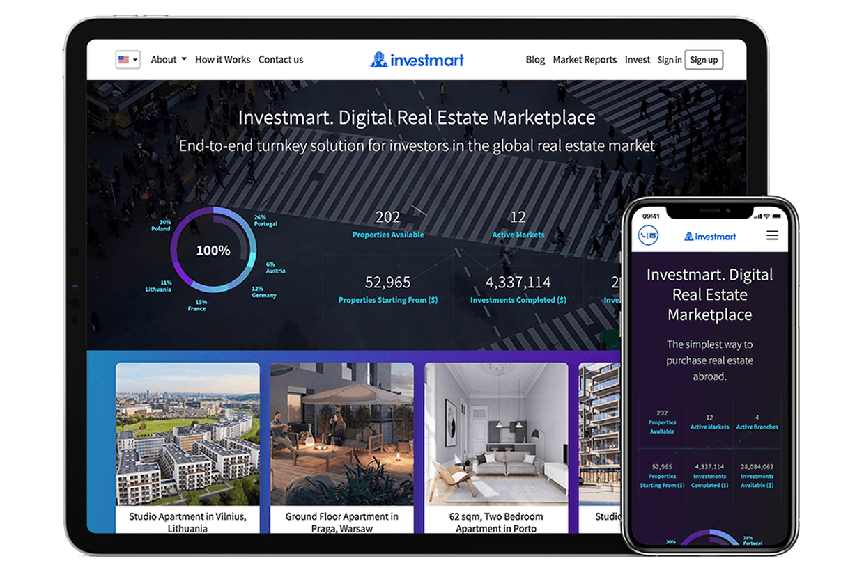 Real-estate investments platform