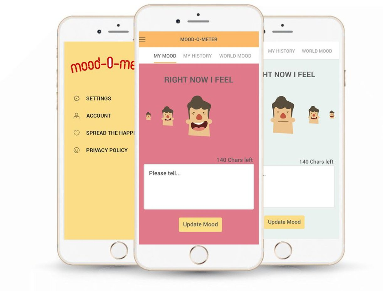 Personal mood diary | Mobile App for Android